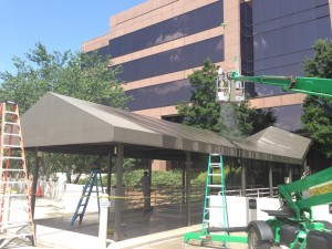 Commercial Awning Cleaning Raleigh Durham Nc Awning Washing